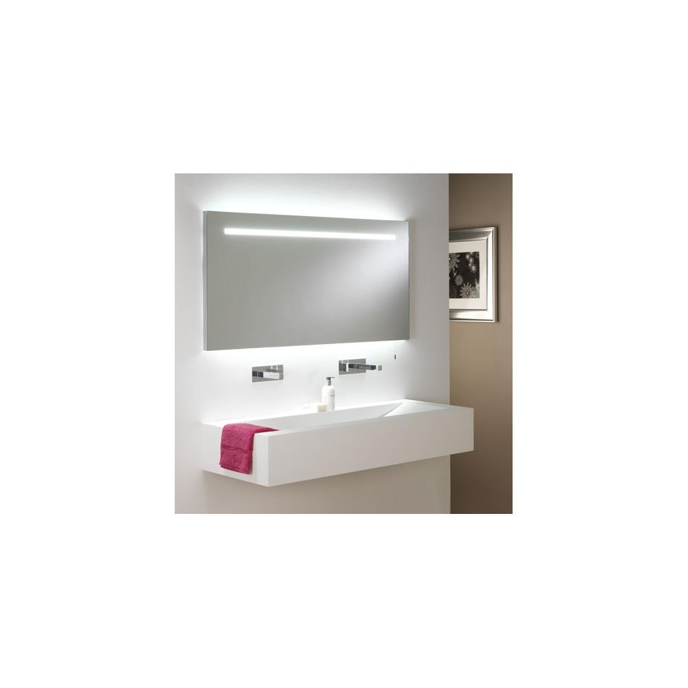 Astro Lighting 0762 Flair 1250 Anodised Aluminium Bathroom Mirror ...