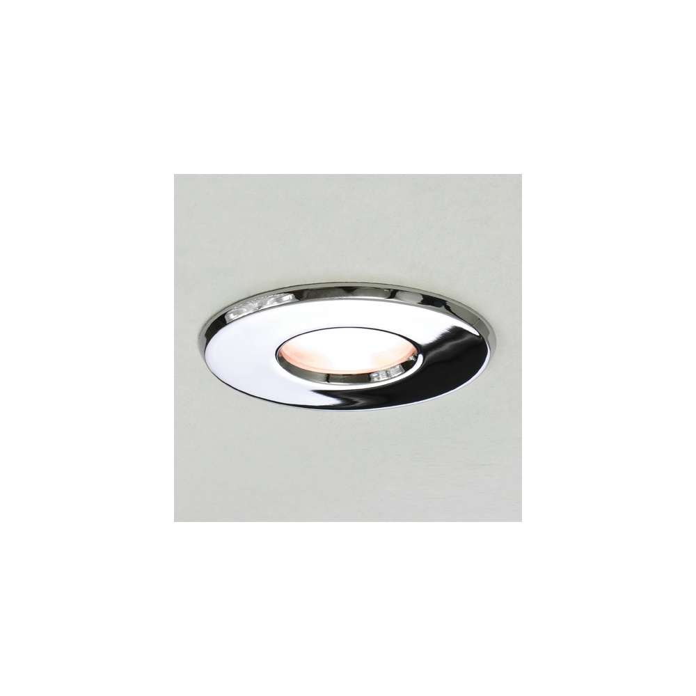 5620 Kamo Chrome 12 Volt Round Fire Rated Recessed Downlighter  sc 1 st  The Home Lighting Centre & Astro Lighting 5620 Kamo Chrome 12 Volt Round Fire Rated Recessed ...
