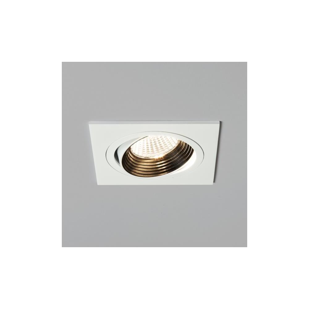 Astro Lighting 5693 Aprilia Square Adjustable LED White Finish ... for Ceiling Spot Light Square  59dqh