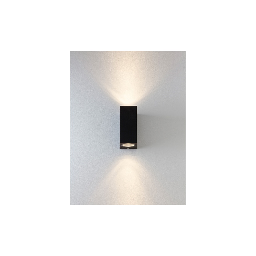 7128 Chios 150 Exterior Wall Light In Black