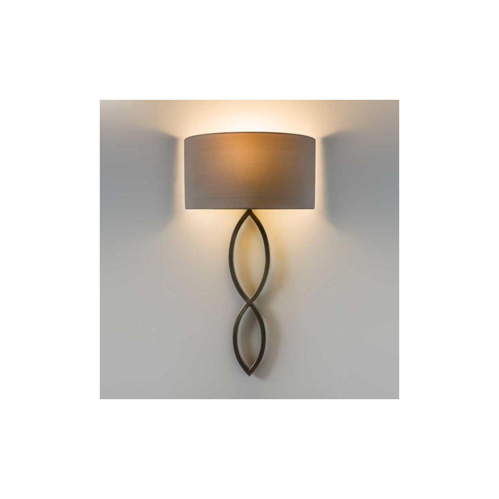 Astro Lighting 7373 Caserta Modern Wall Light In Bronze