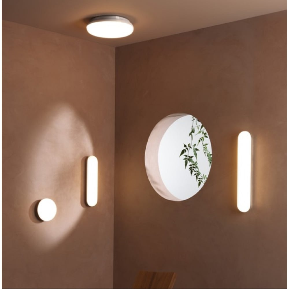 Astro Lighting Altea Modern LED Bathroom Flush Light In Polished ...