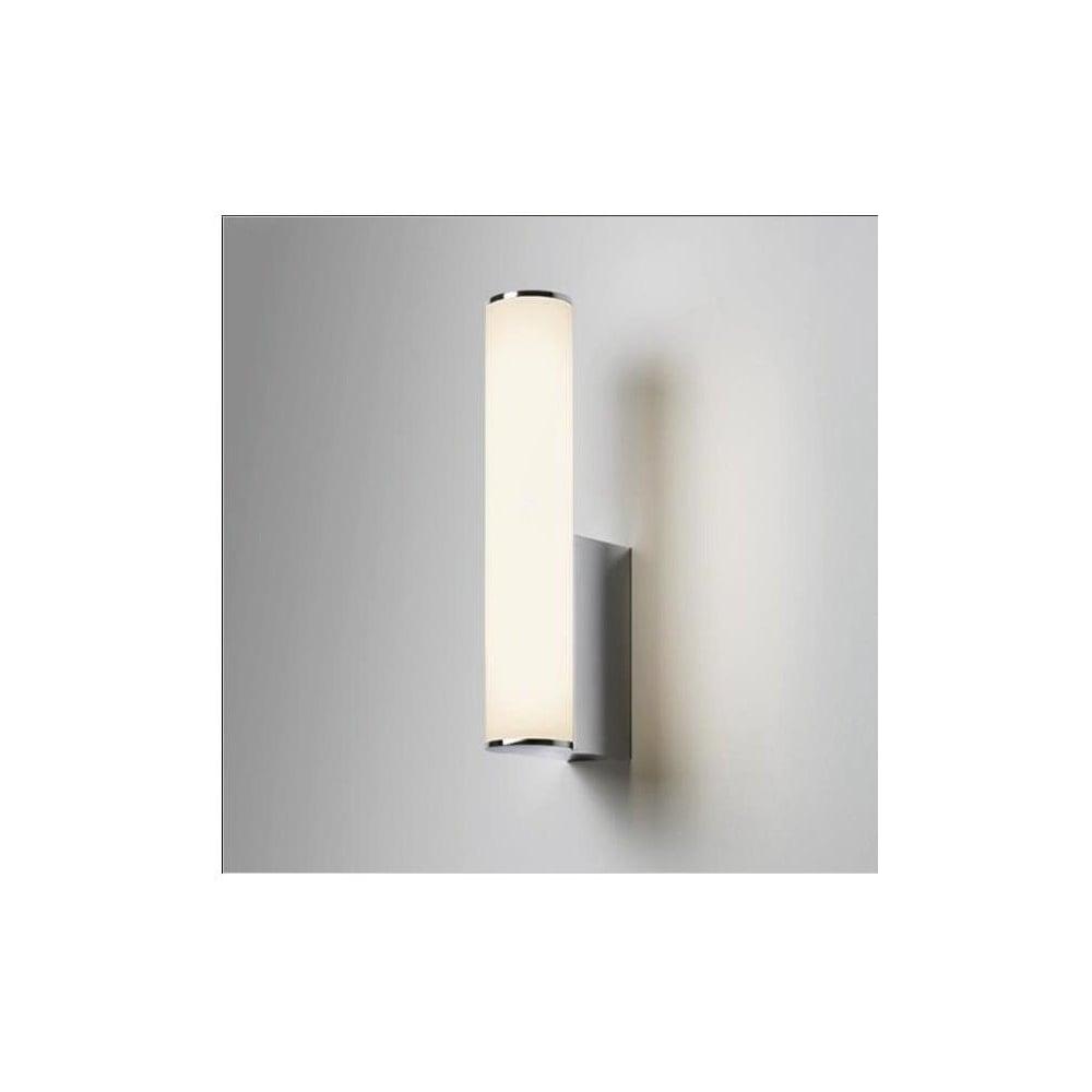 Led Bathroom Centre Light astro lighting astro domino led bathroom wall light in polished