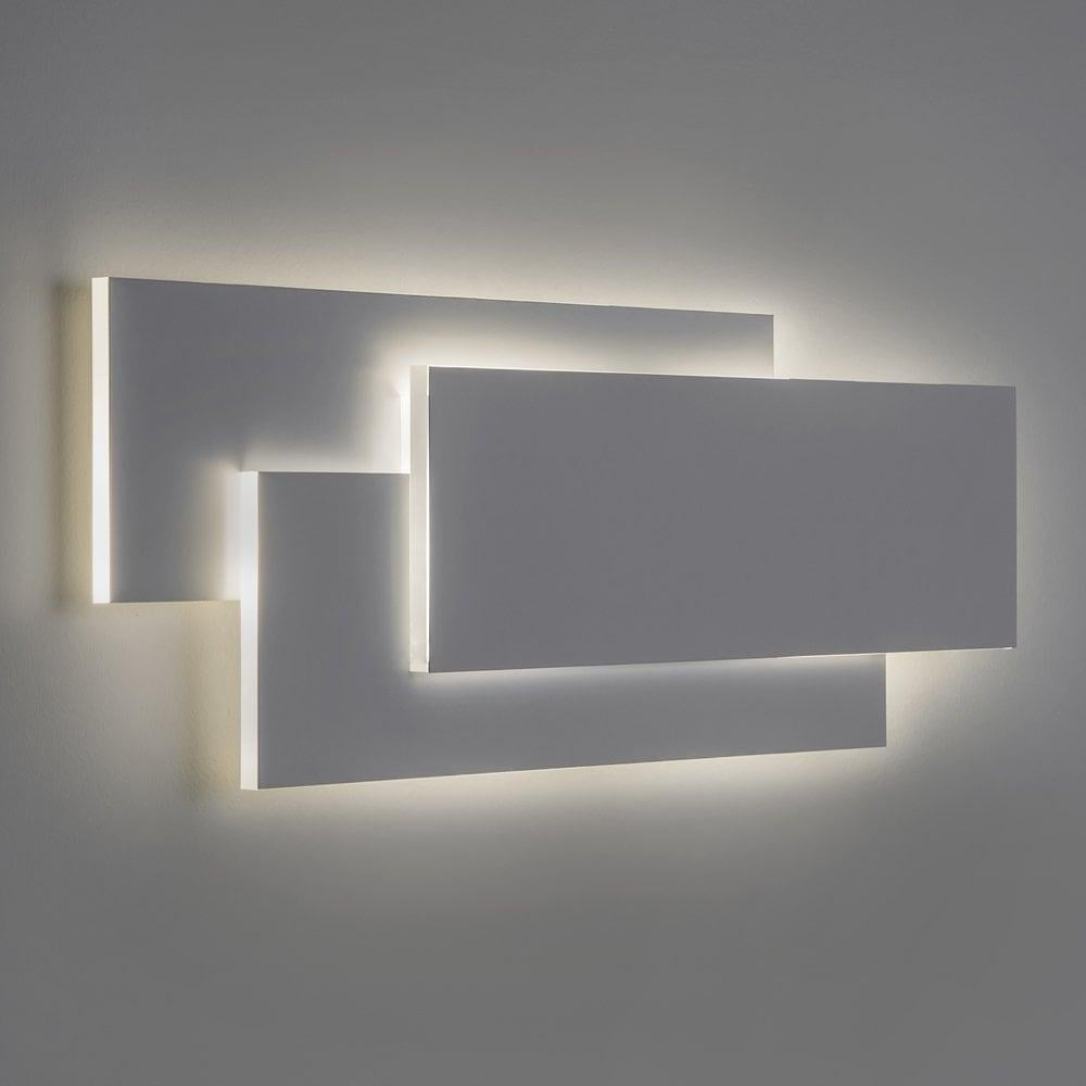 minimalist lighting. Astro Edge 560 Modern Minimalist LED Wall Light In White Finish 7385 Lighting The Home Centre