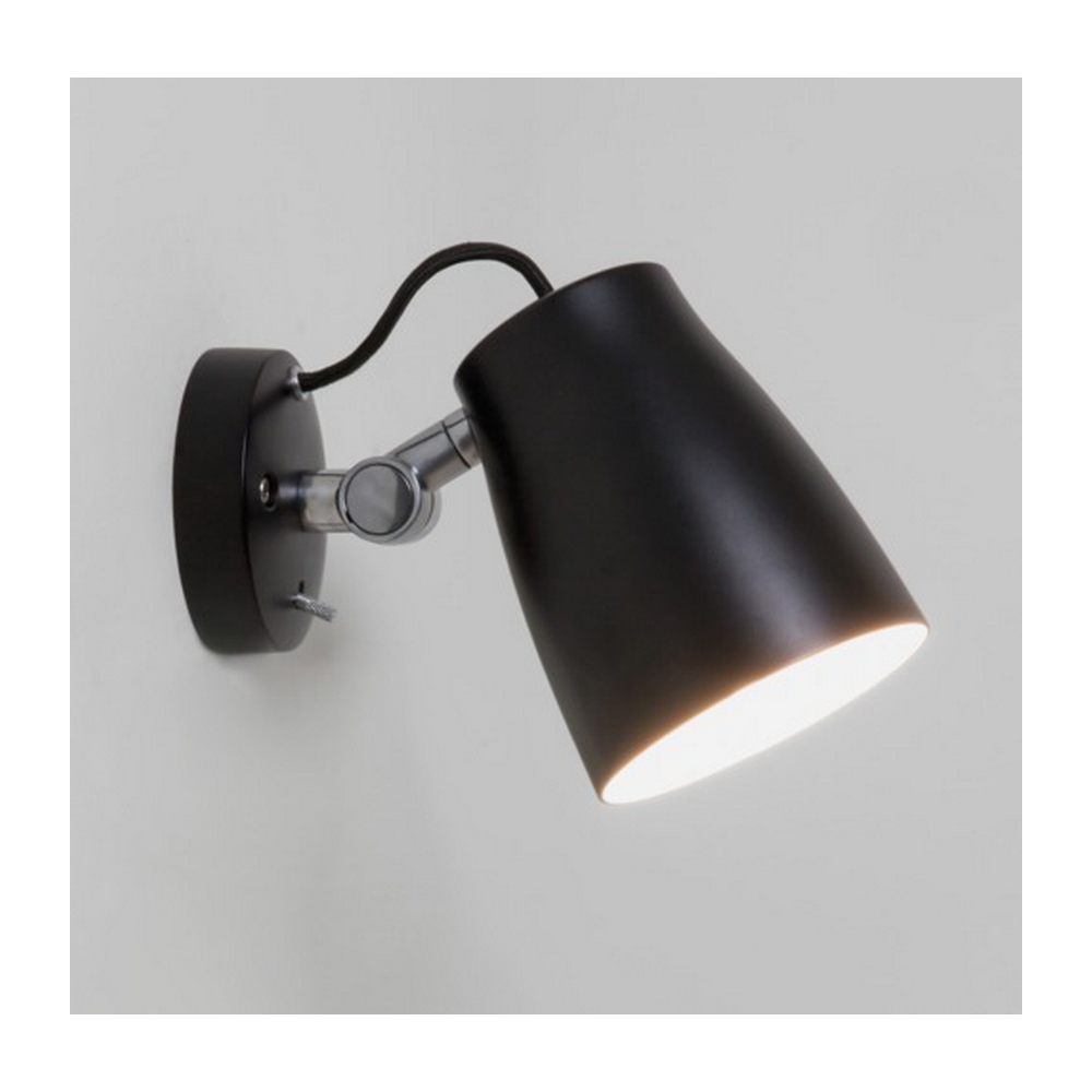 Astro lighting atelier contemporary industrial wall light in black atelier contemporary industrial wall light in black finish 7502 mozeypictures Image collections