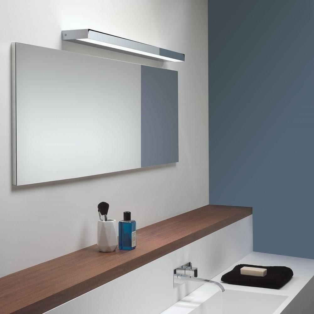 bathroom above mirror lighting. Axios LED Bathroom Above Mirror Wall Light In Polished Chrome Finish 8180 Lighting V