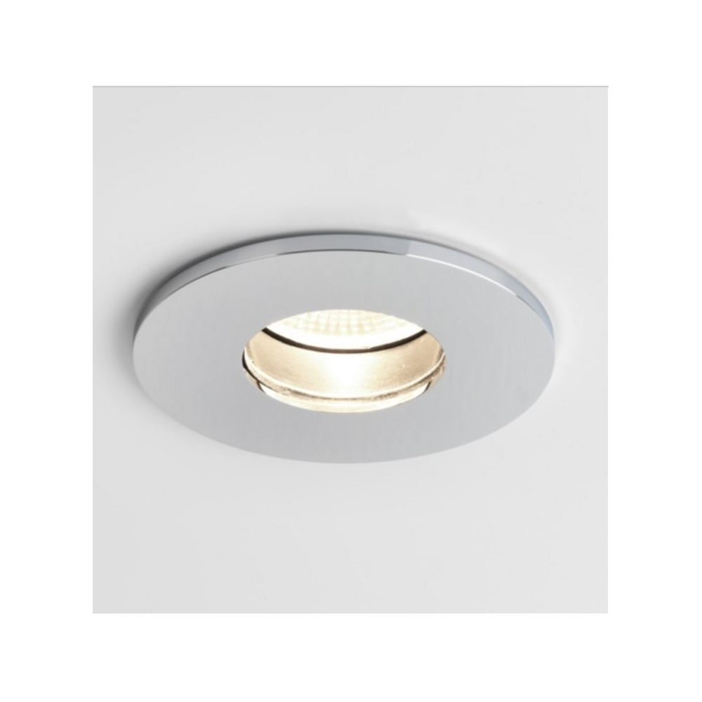 Bathroom Downlight In Polished Chrome Finish IP65 OBSCURA 5768