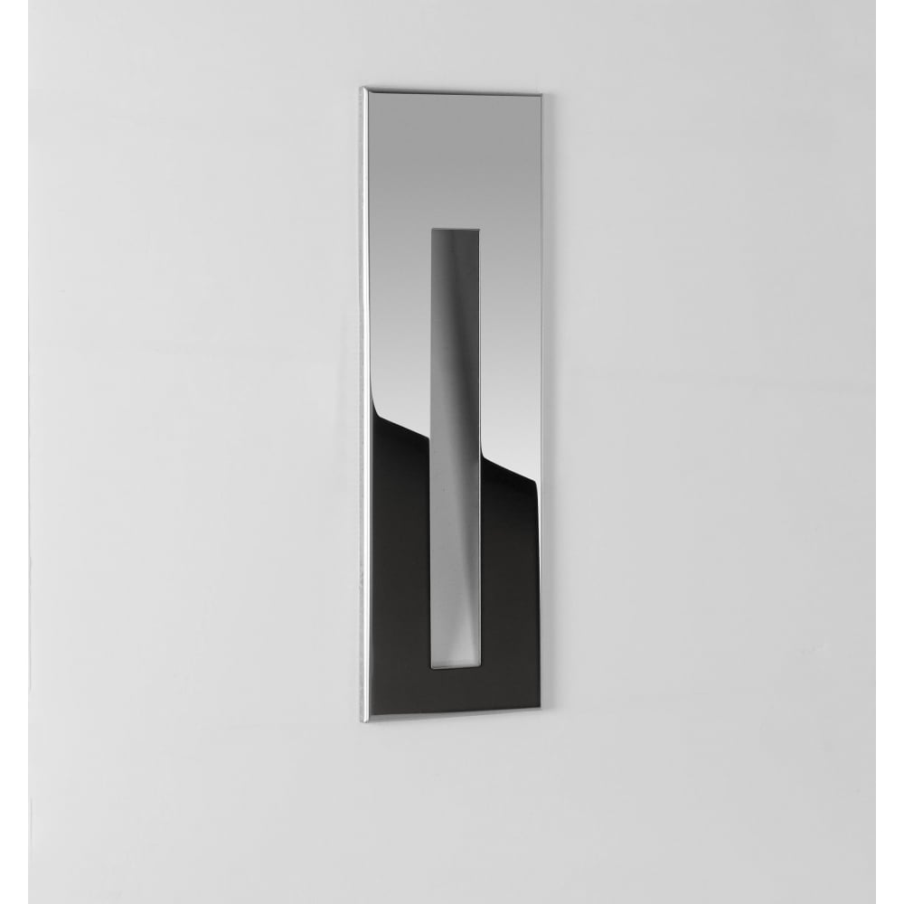 Astro lighting borgo sleek ip65 recessed led 3000 k wall light in borgo sleek ip65 recessed led 3000 k wall light in stainless steel finish 7480 aloadofball Image collections