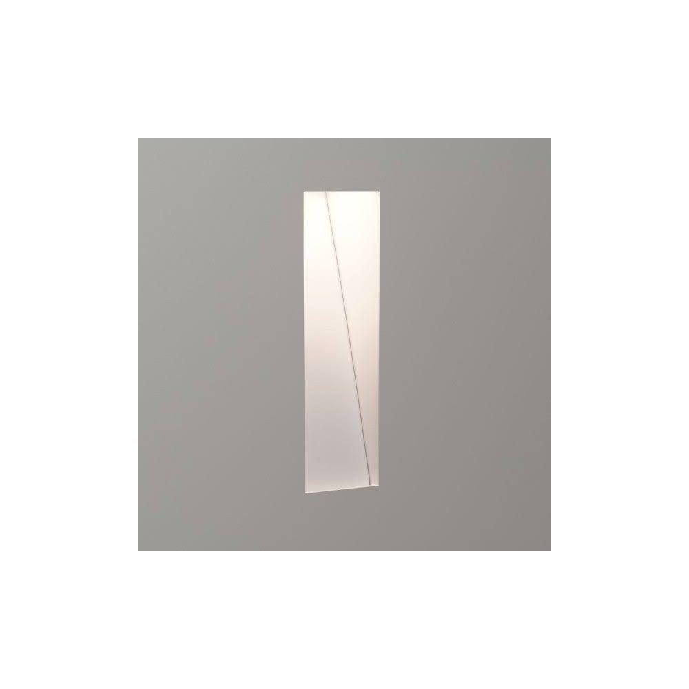 Astro lighting borgo trimless recessed 2700 k led wall light in borgo trimless recessed 2700 k led wall light in white finish 7533 aloadofball Images
