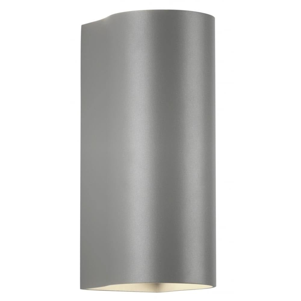 Astro lighting dunbar led 255 contemporary outdoor wall light in dunbar led 255 contemporary outdoor wall light in painted silver finish 7993 aloadofball Choice Image