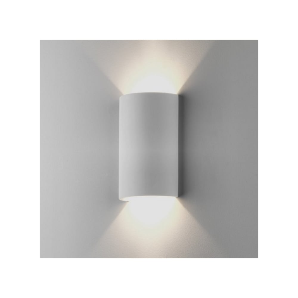 Astro Lighting Indoor Wall Light in White Plaster Finish SERIFOS ...