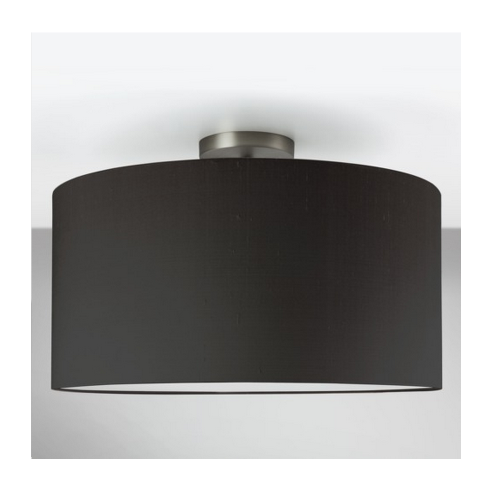 Astro lighting matt nickel semi flush ceiling light with black shade matt nickel semi flush ceiling light with black shade 7461 4157 aloadofball Images