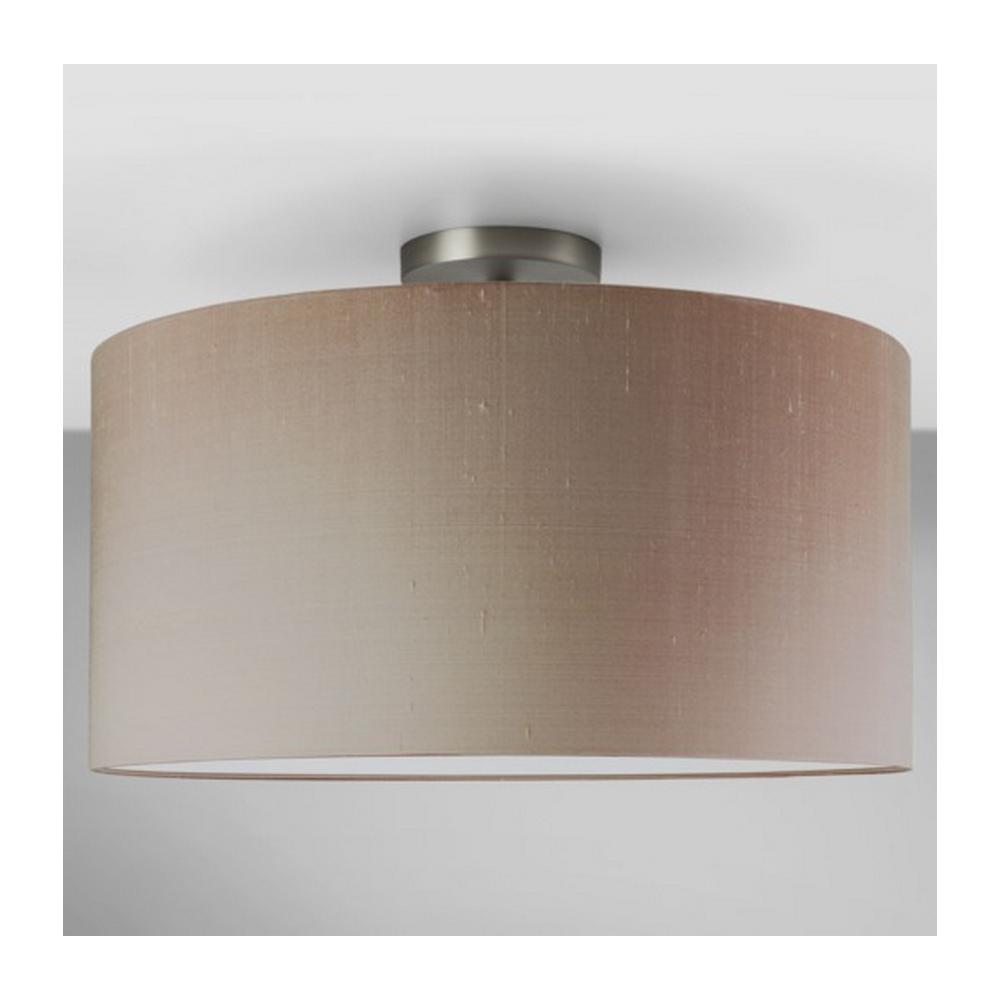 Astro lighting matt nickel semi flush ceiling light with oyster matt nickel semi flush ceiling light with oyster shade 7461 4158 aloadofball Choice Image