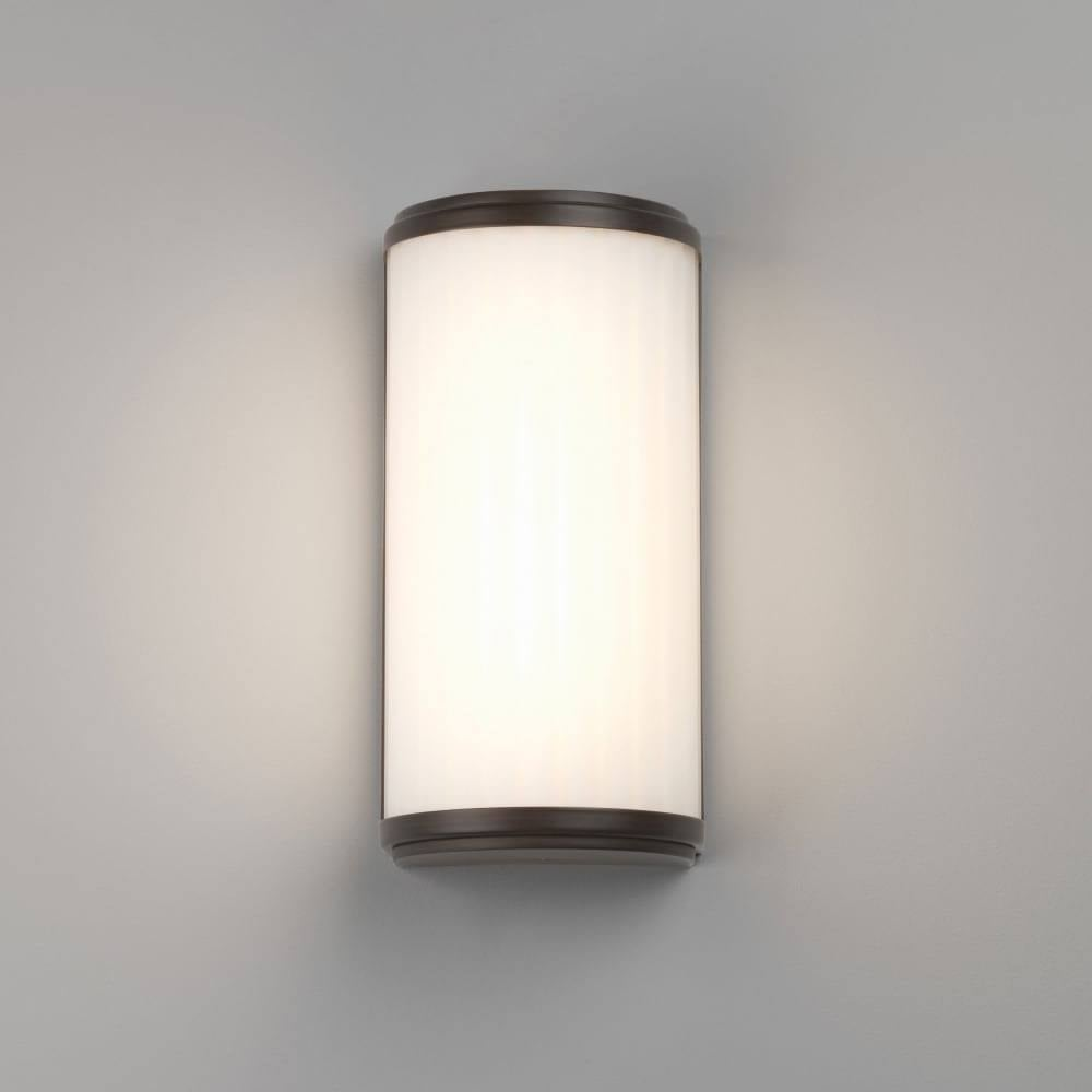 Astro Lighting Monza 250 Bathroom LED Wall Light In Bronze Finish ...