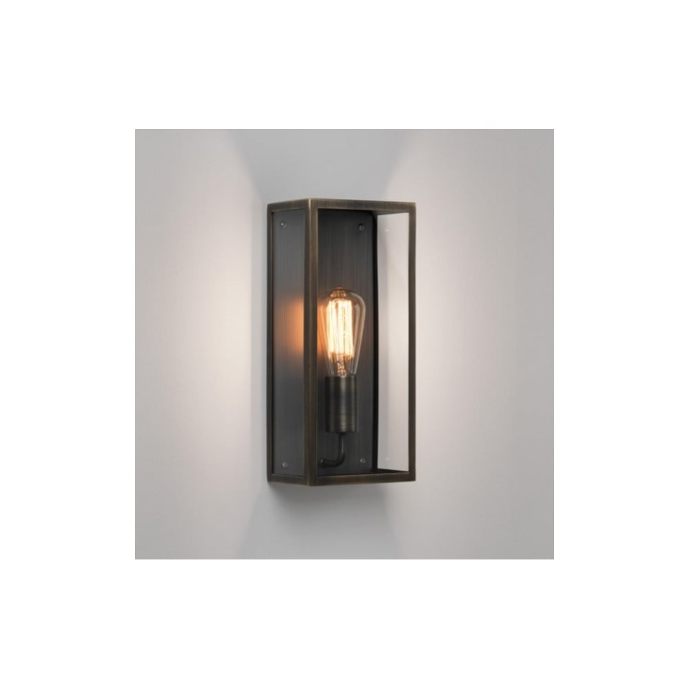 Vintage Outdoor Wall Light In Bronze Plated Finish MESSINA 7872
