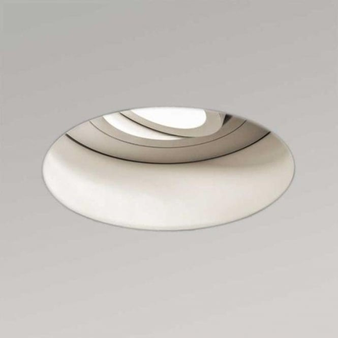 Astro Lighting Astro Trimless Round Adjustable Fire Rated White Downlight 5679