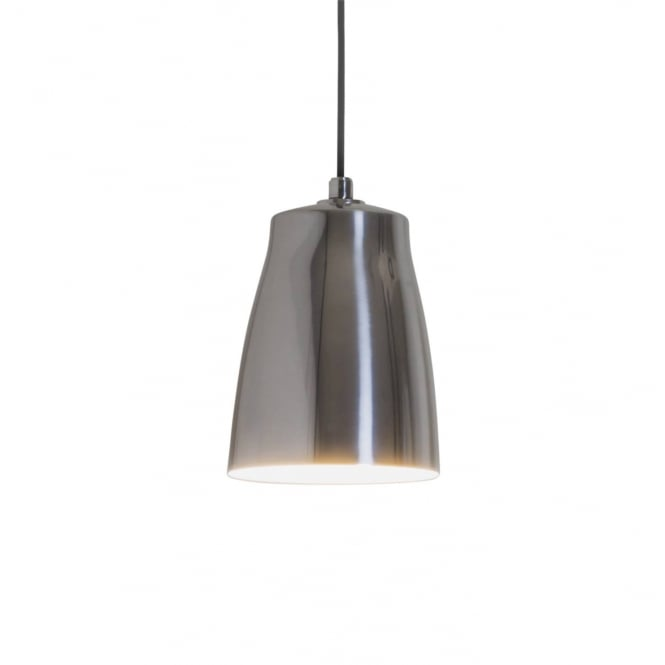 Astro Lighting Atelier 200 Single Ceiling Pendant Light In Polished Aluminium Finish 7516
