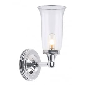 Austen Bathroom Wall Light In Polished Chrome Finish BATH/AUSTEN2 PC
