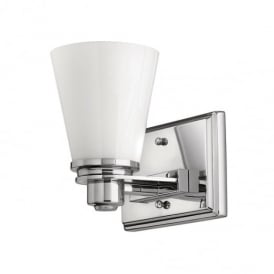 Avon 1 Light Polished Chrome Bathroom Wall Light HK/AVON1 BATH