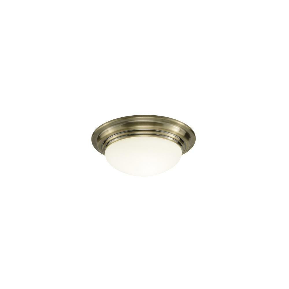 Dar Lighting Bar5275 Barclay Antique Brass Small Bathroom