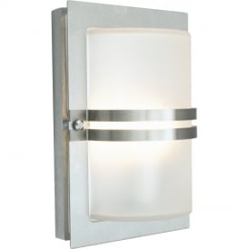 BASEL STAINLESS STEEL outside light, IP54