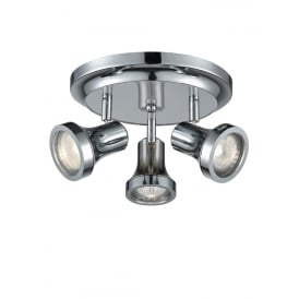Bathroom LED Ceiling Spotlight In Chrome Finish IP44 SPOT9043
