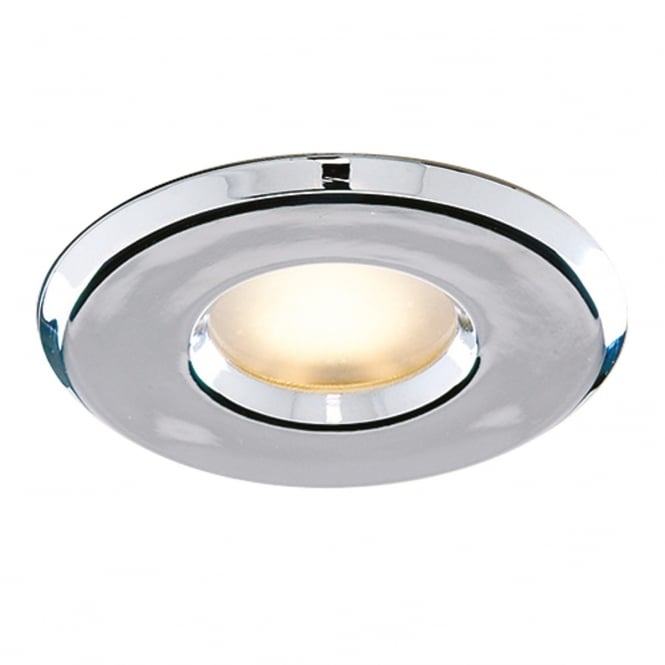 Searchlight Bathroom Recessed Downlight In Chrome Finish IP65 802CC