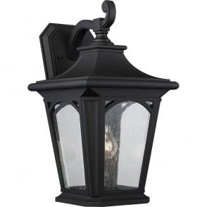 Bedford Outdoor Large Wall Lantern In Mystic Black Finish IP44 QZ BEDFORD2 L