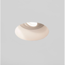 Blanco Round Adjustable Downlight in Plaster Finish 7343