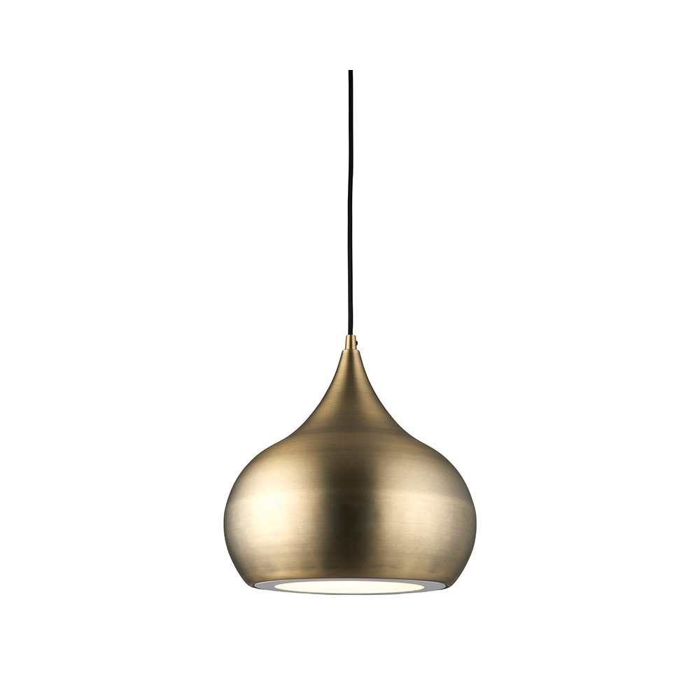 best sneakers 93009 19028 Brosnan Contemporary Antique Brass Ceiling Pendant Light 61299