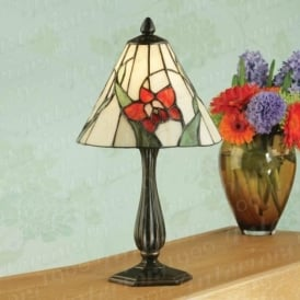 Callista RB089M and TV137SHS Small Tiffany Table Lamp
