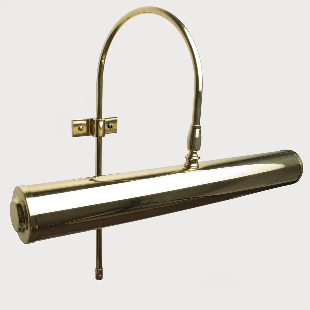 Camborne Frame Mounted Picture Light 35cm Polished Brass