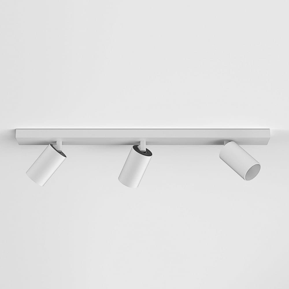 hot sale online 93790 88b17 Can 50 Triple Bar Ceiling Spot Light In Matt White Finish 1396007