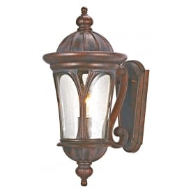 Canada Outdoor Wall Light In Weathered Brown Finish IP44 4272BR