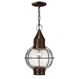 Cape Cod Outdoor Large Duo Mount Lantern In Sienna Bronze Finish IP23 HK/CAPECOD8/L