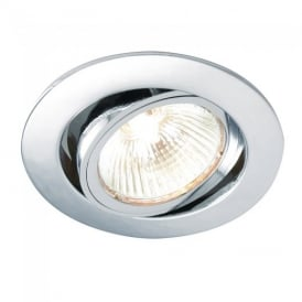 Cast Adjustable Recessed Downlight in Chrome Finish 52332