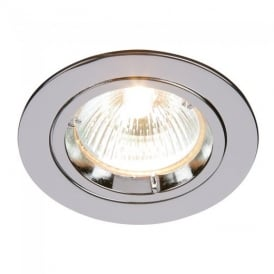 Cast Fixed Recessed Downlight in Chrome Finish 52329