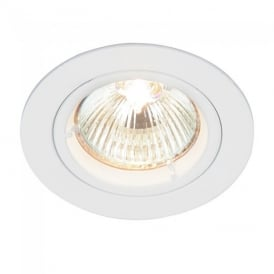 Cast Fixed Recessed Downlight in White Finish 52331