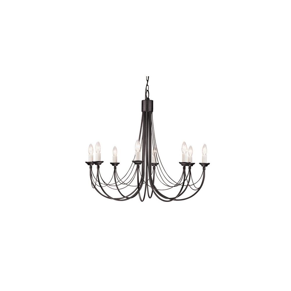 Elstead cb8 carisbrooke gothic chandelier 8 light in black or black cb8 carisbrooke gothic chandelier 8 light in black or black gold aloadofball Images