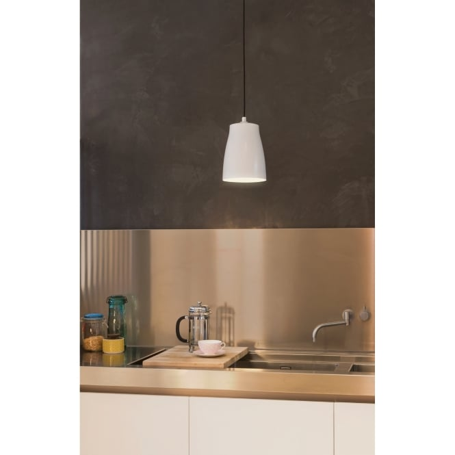 Astro Lighting Ceiling Pendant Light In White Finish ATELIER 7517
