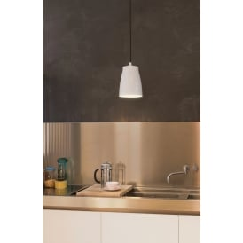 Ceiling Pendant Light In White Finish ATELIER 7517