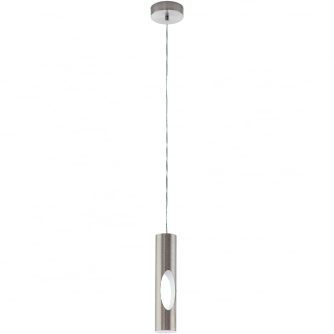Eglo Lighting Ceratella Modern Ceiling Pendant Light In Satin Nickel Finish 96903