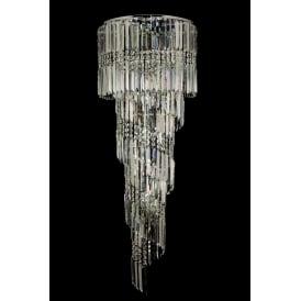 CF112024/14/CLR/CH Toronto 14 Light Flush Ceiling Light