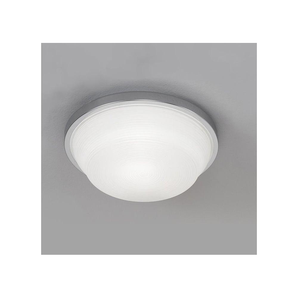 Cf5704 Small Spiral Opal Glass Bathroom Flush Ceiling Light