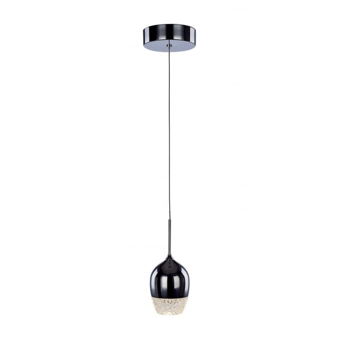 Illuminati Lighting Chalice Modern Single LED Ceiling Pendant In Polished Chrome MD15030009-1ACHR