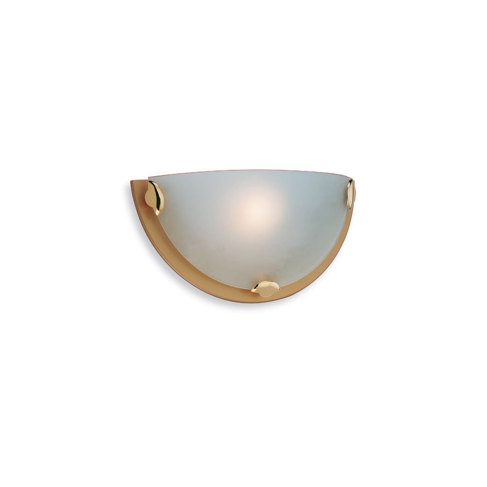 Firstlight Lighting Champagne W200 Satin Brass Wall Light - Firstlight Lighting from The Home ...