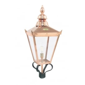 Chelsea Classic Lantern Head In Copper Finish IP44 CSG/HO