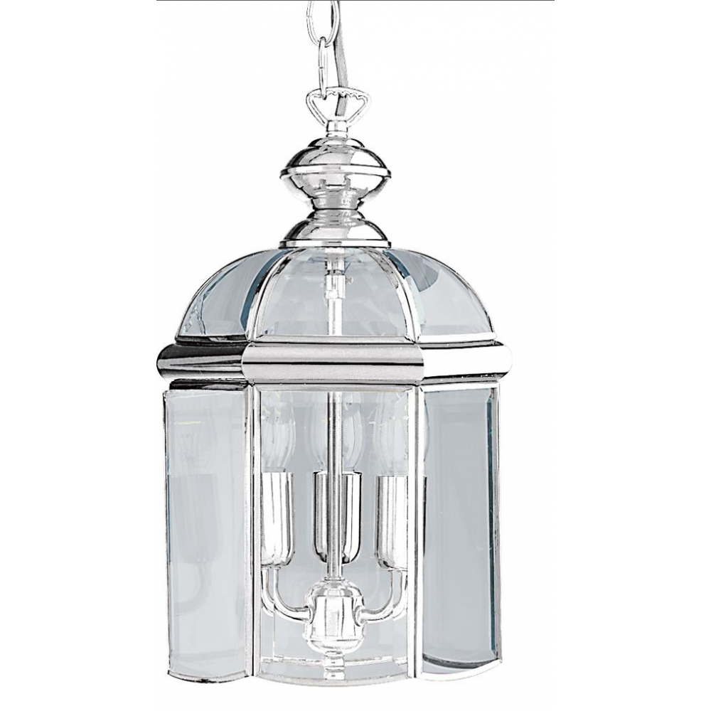 Searchlight Chrome 3 Light Hanging Ceiling Lantern