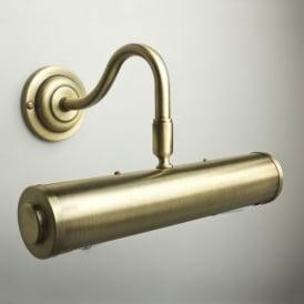Classic 26cm Picture Light Antique Brass