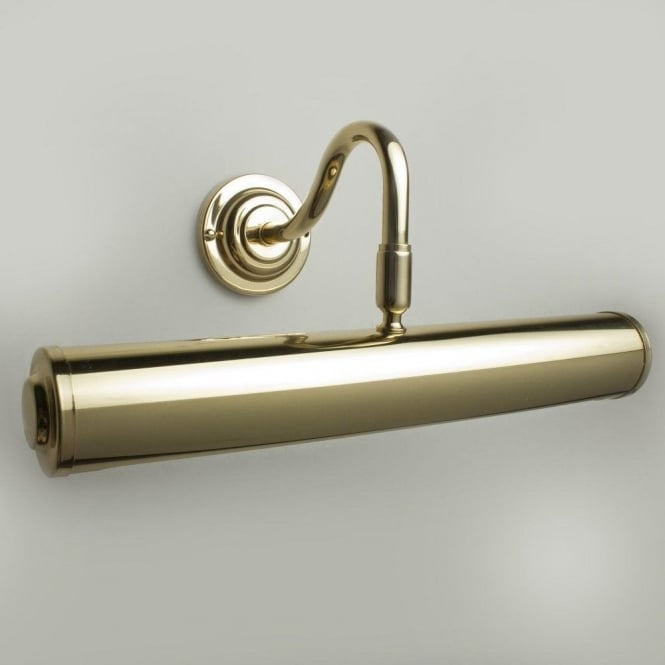 Classic 35cm Picture Light Polished Brass
